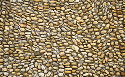 Cobblestone. Neatly arranged in the same size pebble Royalty Free Stock Photo