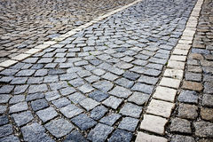 Cobblestone Stock Photo