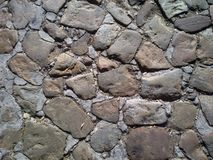 Cobblestone. Part of the original cobblestone streets in Bo-Kaap, Cape Town, South Africa royalty free stock photography