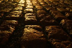 Cobblestone Path Stock Image