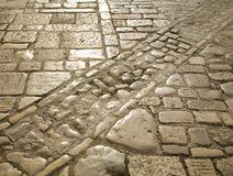 Cobblestone pattern Royalty Free Stock Image