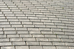 Cobblestone pavement. Of Red Square in Moscow Russia Stock Image