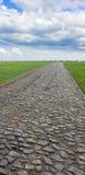 Cobblestone pavement Stock Photo
