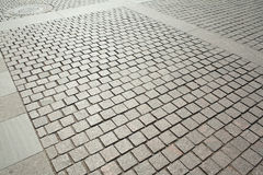 Cobblestone pavement Royalty Free Stock Photography