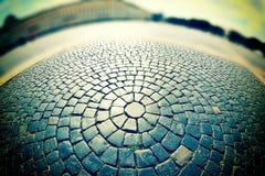 Cobblestone pavement Stock Photography