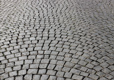 Cobblestone pavement. Stock Images