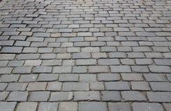 Cobblestone pavement. Stock Photos