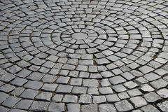 Cobblestone pavement. Royalty Free Stock Images
