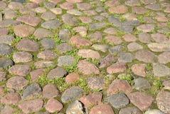 Cobblestone pavement. Royalty Free Stock Image