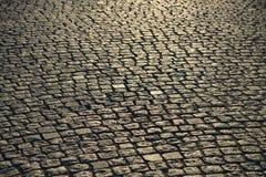 Cobblestone pavement. Royalty Free Stock Photography