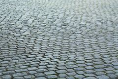 Cobblestone pavement Stock Photos