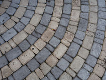 Cobblestone pavement royalty free stock photos