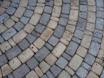 Cobblestone pavement Royalty Free Stock Photos