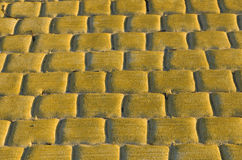 Cobblestone pavement Royalty Free Stock Images