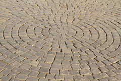 Cobblestone Pavement Stock Photography