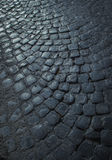 Cobblestone pavement Stock Image