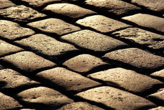 Cobblestone pavement texture Royalty Free Stock Image