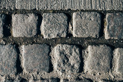 Cobblestone pavement texture Royalty Free Stock Photo