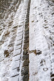 Cobblestone pavement in Wemding, Germany Royalty Free Stock Photos