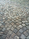 Cobblestone in Prague. Color cobblestone in Prague pavement royalty free stock photography