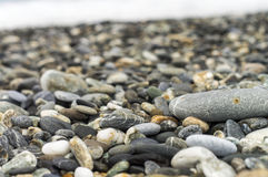 Cobblestone. Of Qixing Tan Beach Stock Images