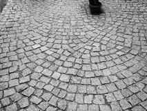 A cobblestone road Stock Photos