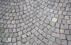 Cobblestone road Stock Photography