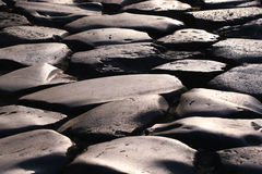Cobblestone road Royalty Free Stock Image