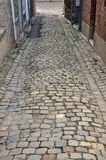 Cobblestone road Royalty Free Stock Images