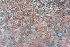 Cobblestone road Royalty Free Stock Image