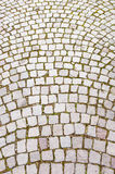 Cobblestone road Stock Photos