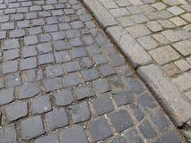 Cobblestone, Road Surface, Line, Brickwork stock photography