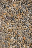 Cobblestone Road Texture. Old Cobbled roadway vertical texture Royalty Free Stock Image