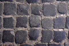 Cobblestone Road Texture Royalty Free Stock Photos