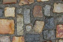 Cobblestone road texture 7699 Stock Image