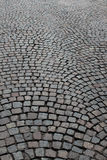 Cobblestone Roadway Stock Photography