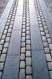 Cobblestone Sidewalk in Aarhus Royalty Free Stock Photos