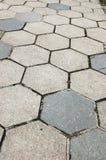 Cobblestone Sidewalk Texture Stock Images
