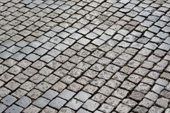 Cobblestone square Royalty Free Stock Photography