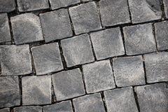 Cobblestone square rock Royalty Free Stock Photo