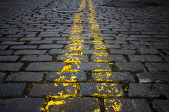 Cobblestone Street Stock Images