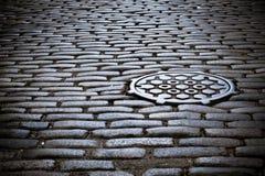 Cobblestone street Royalty Free Stock Image