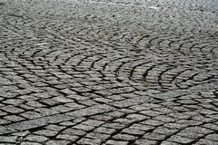 Cobblestone street abstract wallpaper background royalty free stock image