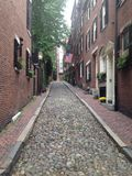 Cobblestone Street Stock Photo