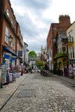 Cobblestone Street of Berkshire, England Royalty Free Stock Photography
