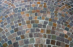 Cobblestone street Royalty Free Stock Photography