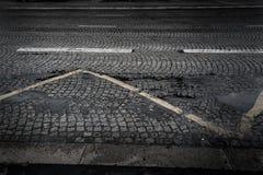 Cobblestone street Stock Image