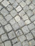 Cobblestone street. Abstract wallpaper background Stock Images