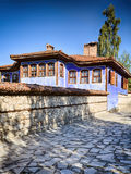 Cobblestone Street in Koprivshtitsa Royalty Free Stock Photo