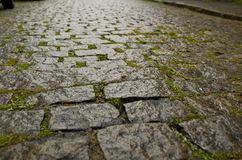 Cobblestone Street near Escadaria Selar Royalty Free Stock Image